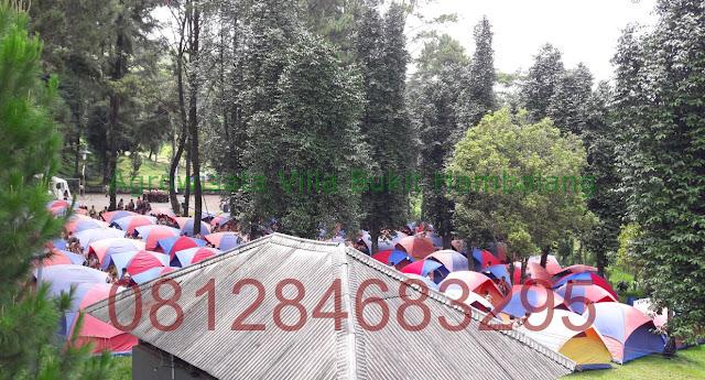 Tempat Kemping Murah di Agrowisata Villa Bukit Hambalang Hills