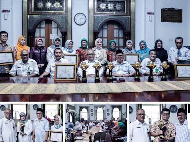 Inilah Enam Sekolah di Kota Bandung Penerima Penghargaan Adiwiyata Mandiri 2018