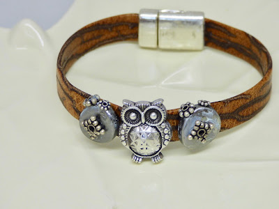 owl bracelet by BayMoonDesign