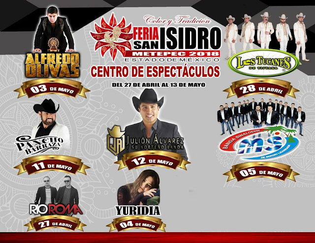 Feriasanisidrometepec2018 boletos