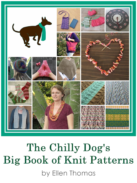 The Chilly Dog's Big Book of Knit Patterns is available now!