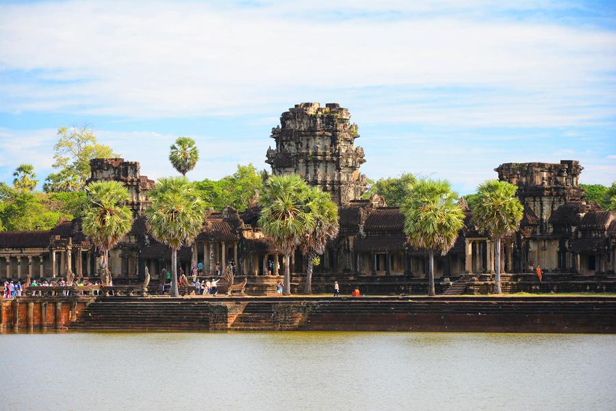 Angkor Wat Kambodża