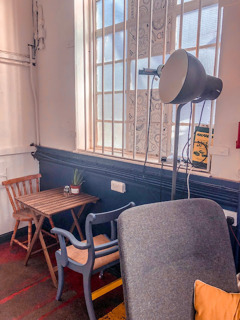 The Garage Cafe, Newcastle furniture