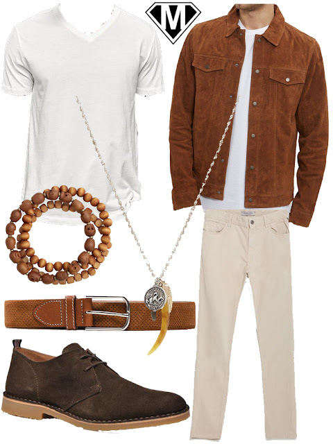 bohemian men outfit hippie