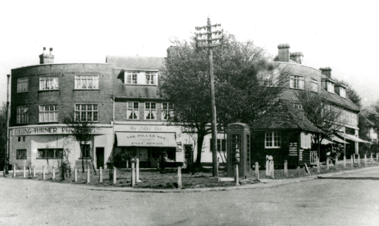 Photograph of Bradmore Green in 1950