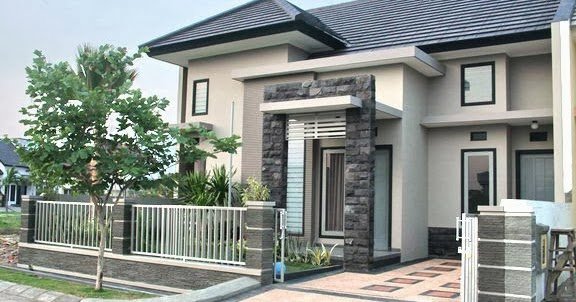 Terbaru 23 Gambar Pagar Tembok Depan Rumah