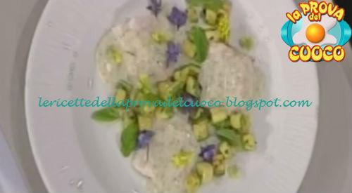Ricetta del Cefalo al pepe verde zucchine trifolate e menta da La Prova del Cuoco