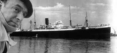 Guerra Civil española. Pablo Neruda y el Winnipeg, el barco de la esperanza