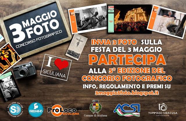 Torna il concorso fotografico 3Maggio 3Foto