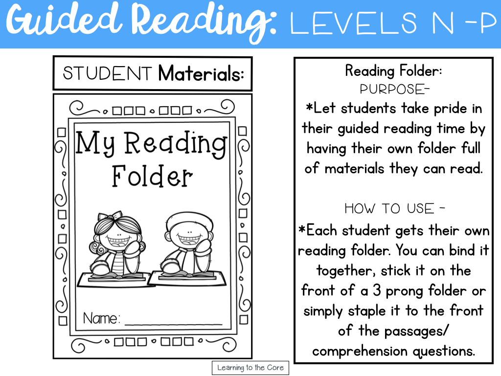 worksheet Leveled Reading Passages guided reading passages levels n p learning to the core i am always amazed by just how much progress readers make within a year leveled texts move at gradual pace but difference from for e