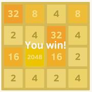 ... Thử tài kết hợp với game 2048 ...