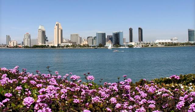 Condições climáticas no mês de março em San Diego