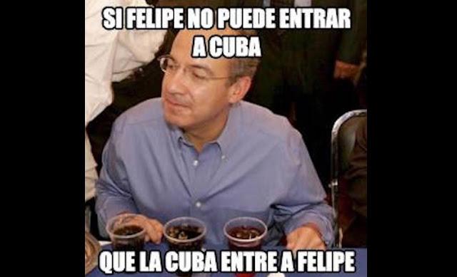 Felipe Calderón borracho
