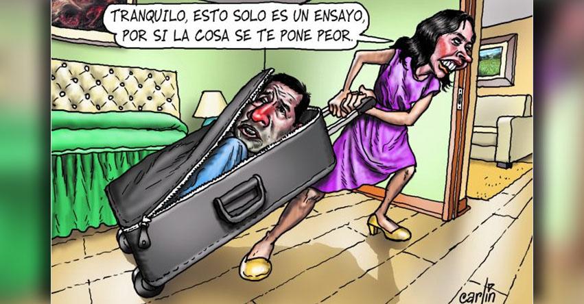 Carlincaturas Jueves 20 Abril 2017 - La República