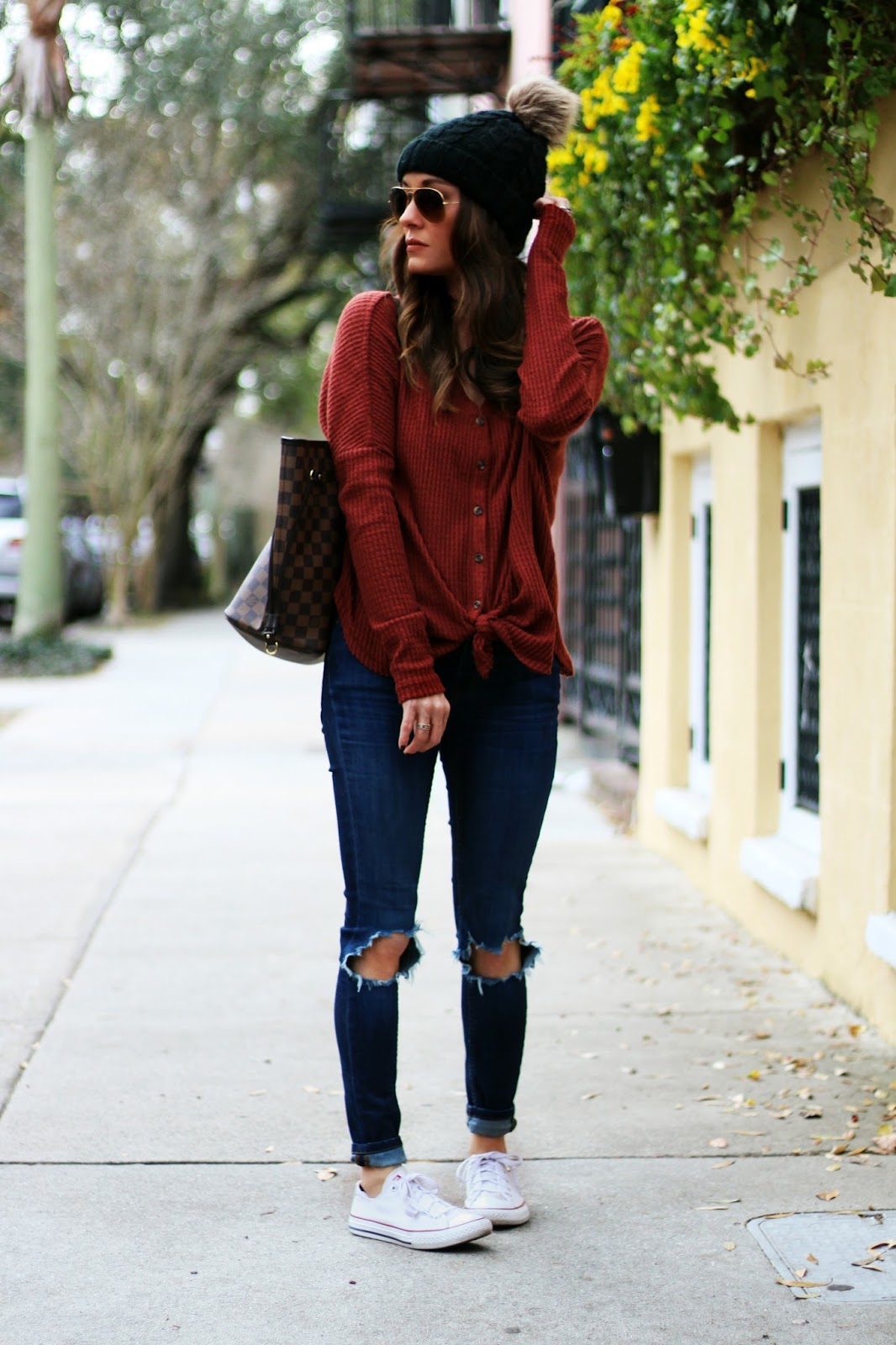Urban Outfitters Thermal Outfit