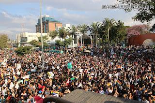 IMG 9922 - 13ª Parada do Orgulho LGBT Contagem reuniu milhares de pessoas