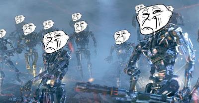 Terminator trollface