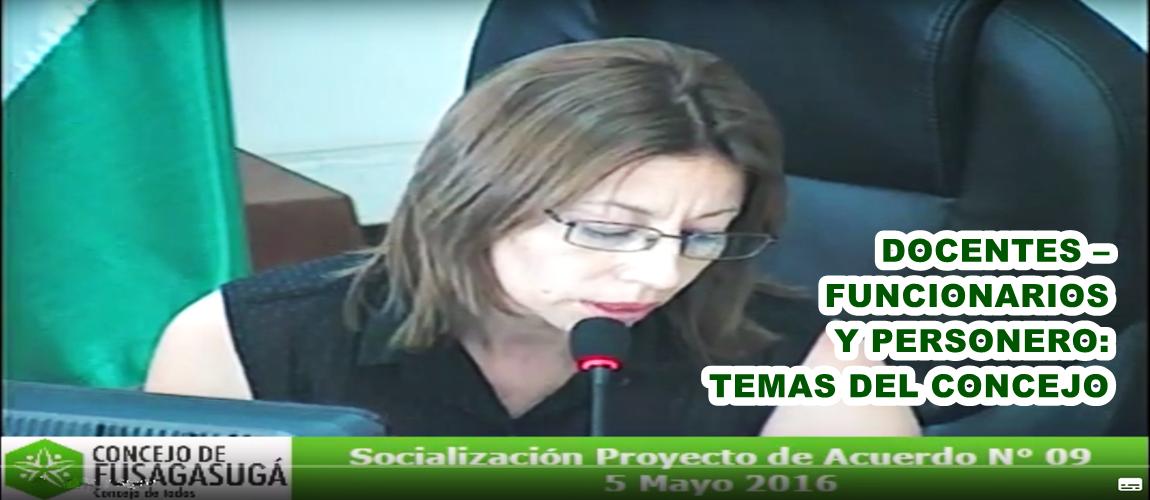 Fusagasug docentes funcionarios y personero temas del for Funcionarios docentes en el exterior
