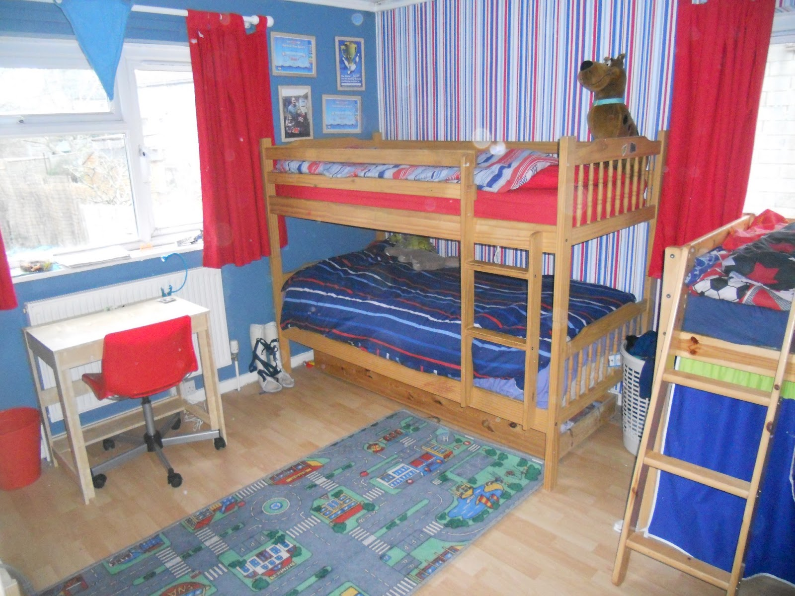 Mama OWL Blog: Decorating The Boys' Bedroom
