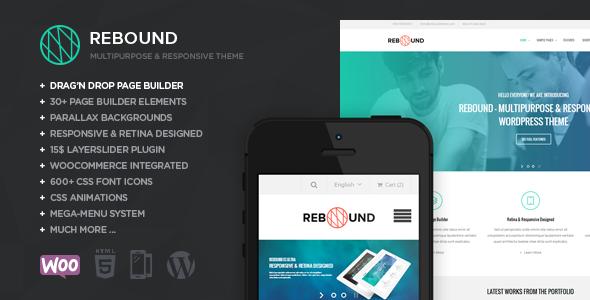 Rebound WordPress Template