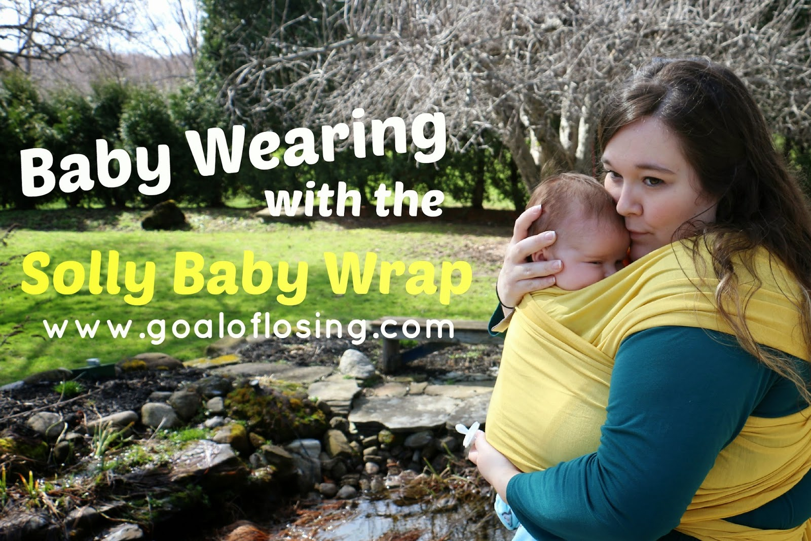 Goal Of Losing Baby Wearing And Solly Baby Review