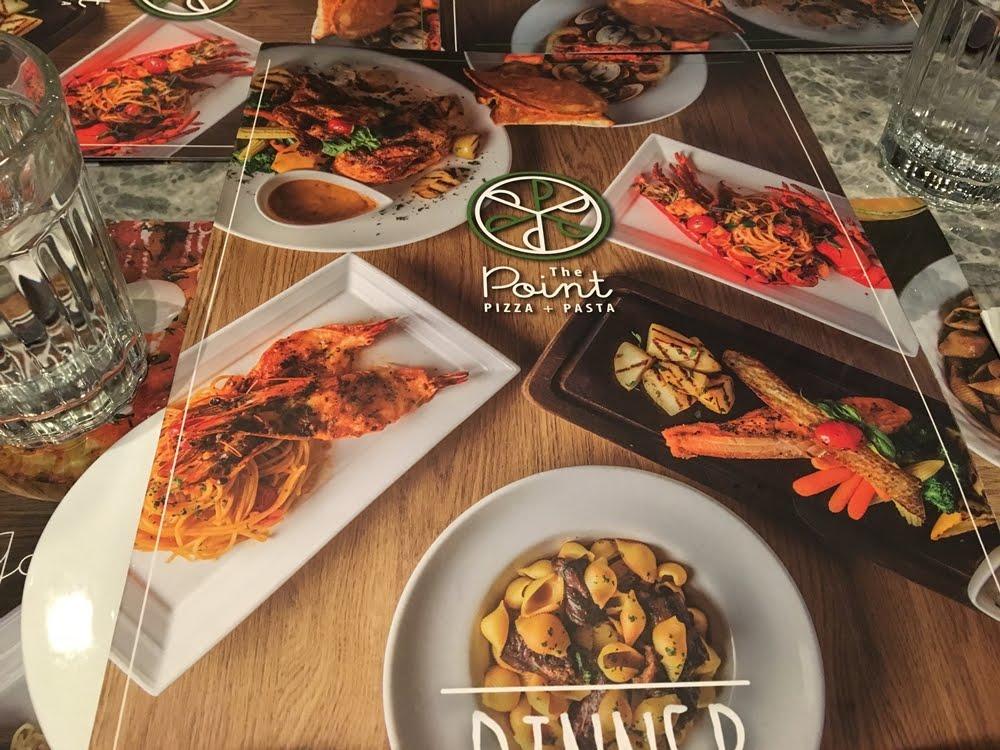 [龍蝦薄餅] 尖沙咀The One 意大利餐廳 - The Point 。 Hong Kong Tsim Sha Tsui Italian restaurant - The Point (Pizza & Pasta) | Running Girls
