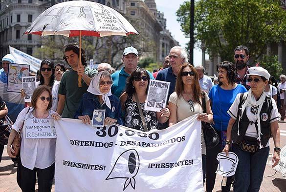 A 40 años del golpe, la CTA Autónoma abrazó a las Madres en la Marcha de la Resistencia