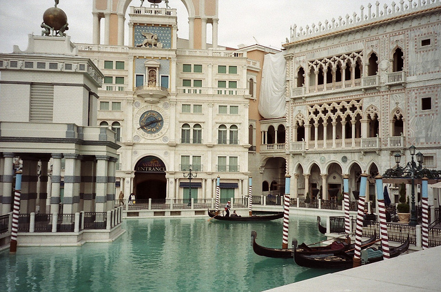 Atrações no The Venetian Hotel Cassino