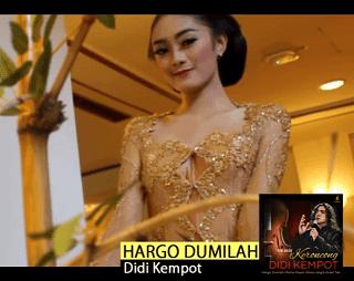 Lirik Lagu Hargo Dumilah - Didi Kempot
