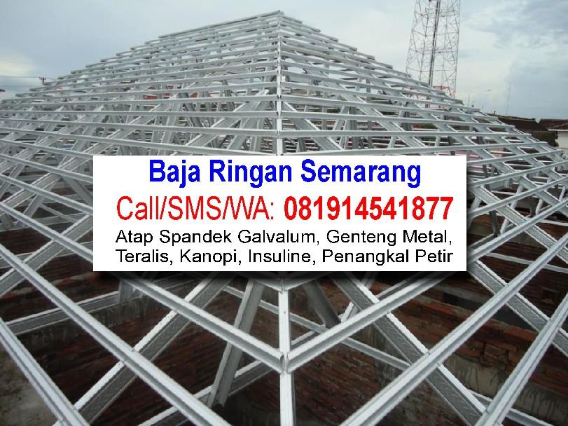 Perbandingan Harga Baja Ringan Vs Kayu Semarang Pemasangan Atap