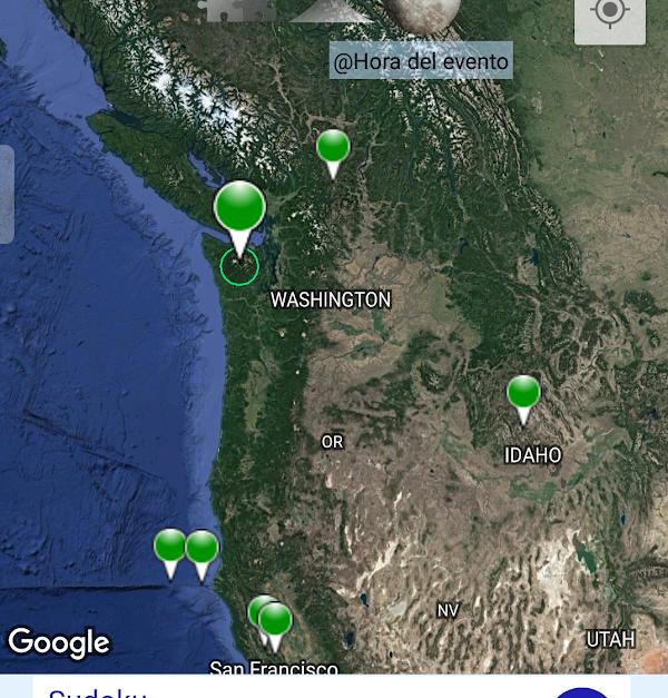 ULTIMA HORA: Reportan sismo en Washington.