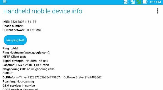 Cara Lock Jaringan 4G pada Hp Android - *#*#4636#*#*