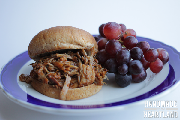 Easy, delicious pulled pork recipe for the slow cooker or instant pot!
