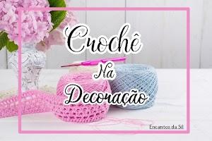 O Crochê na decoração
