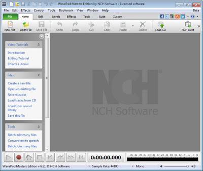 WavePad Sound Editor Masters Edition 6.50 Full Crack | sbctrad