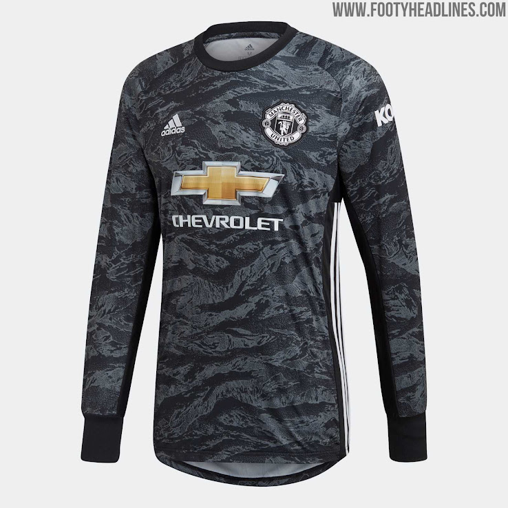 promo code bf11d 0450e Manchester United 19-20 Goalkeeper Away Kit Released - Footy ...
