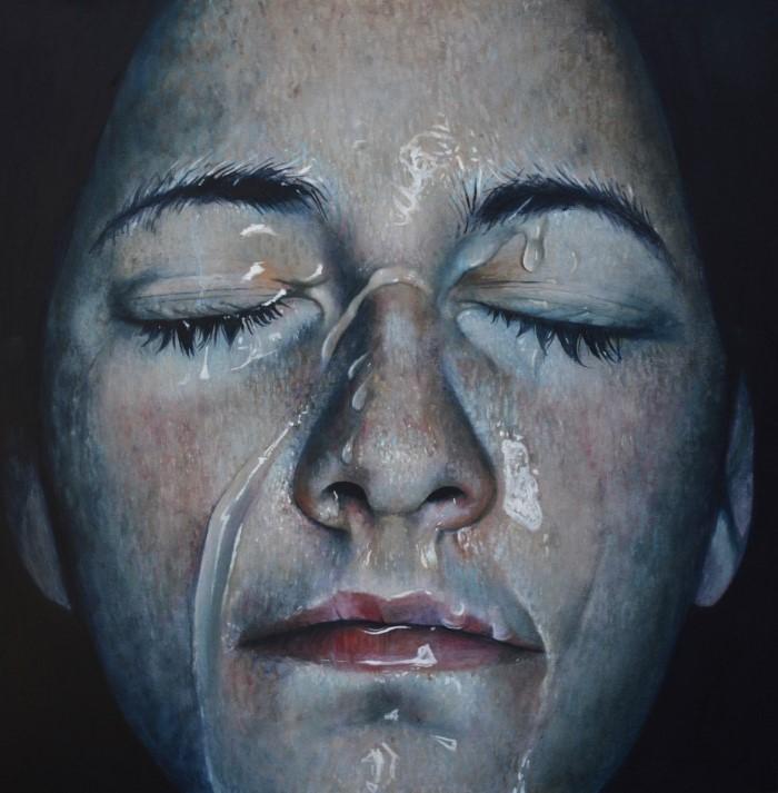Современный американский художник. Erica Elan Ciganek