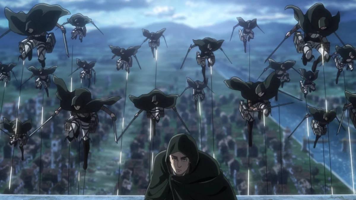 Shingeki no Kyojin - screen z trzeciego sezonu