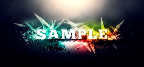 Create Awesome Abstract Text Effect with Brush Dynamics and Filters in Photoshop