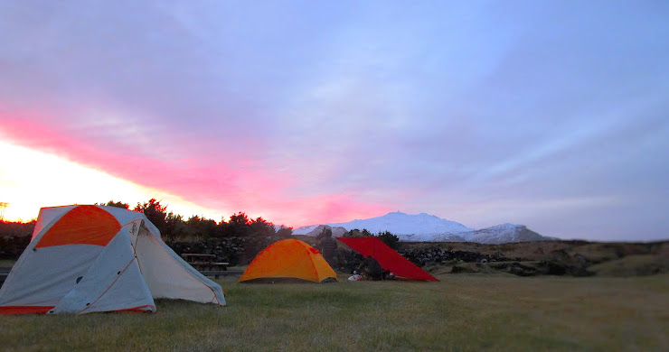 How and Where to Camp in Iceland