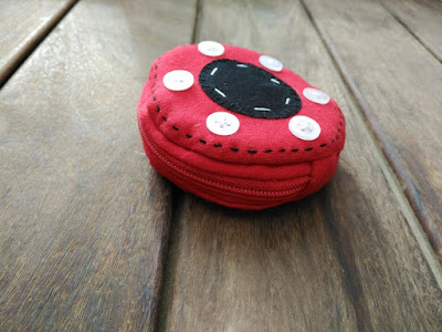 monedero, purse, porte monnaie, puck, hockey, costura, couture, sewing