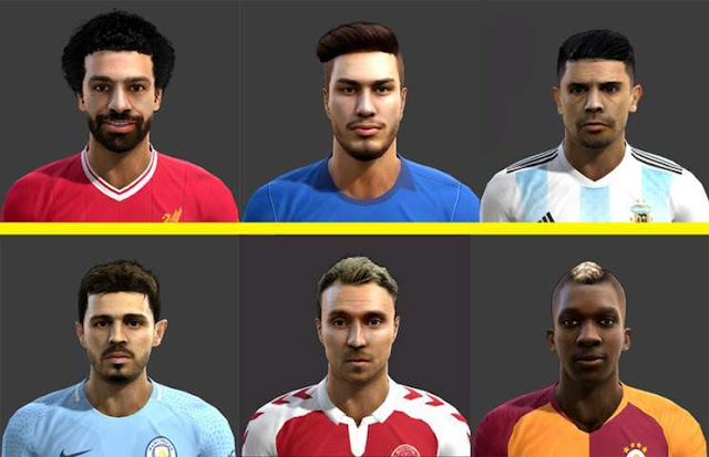 Mixed Facepack 2018 PES 2013
