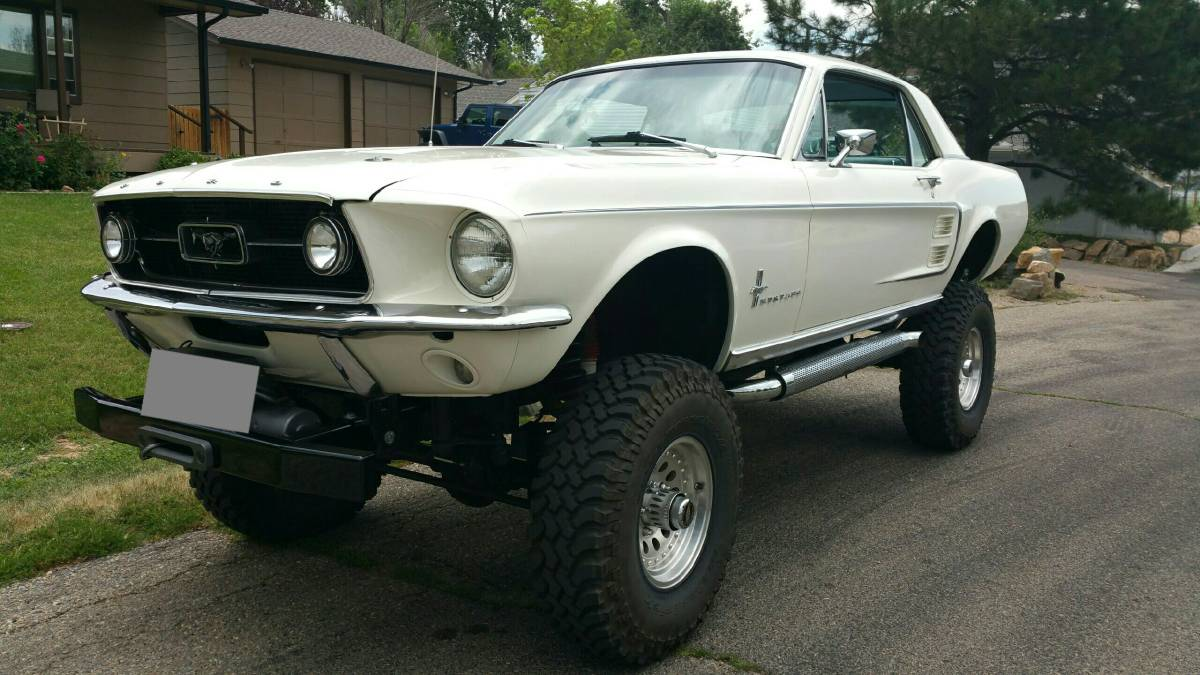 Daily Turismo: High As A Kite: 1967 Ford Mustang 4X4