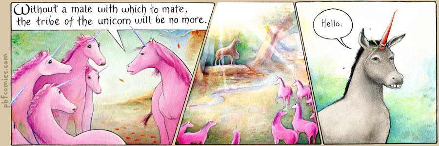 Unicorns In The Bible: How To Carve Roast Unicorn: THE LAST UNICORNS