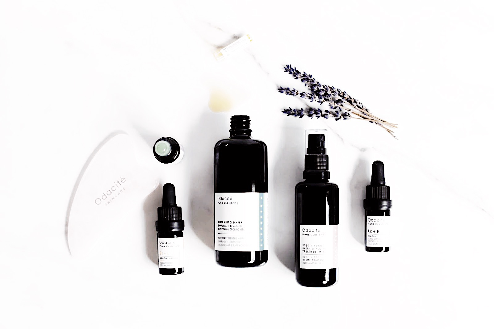 odacité skin care soins visage serums avis test