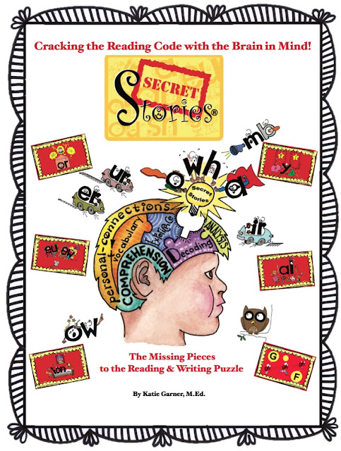 The NEW Secret Stories® Phonics Book— Version 2.0! by Katie Garner