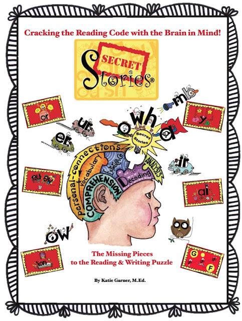 The NEW Secret Stories® Phonics Book— Version 2.0! by Katie Garner