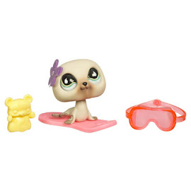 Littlest Pet Shop Collectible Pets Seal (#637) Pet