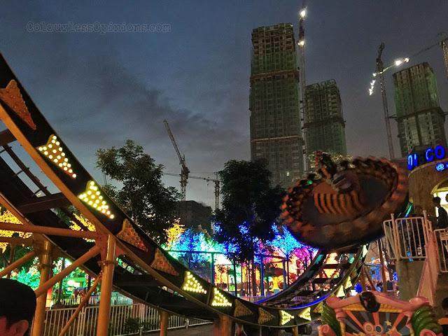 i-city city of digital lights theme park moto disco ride