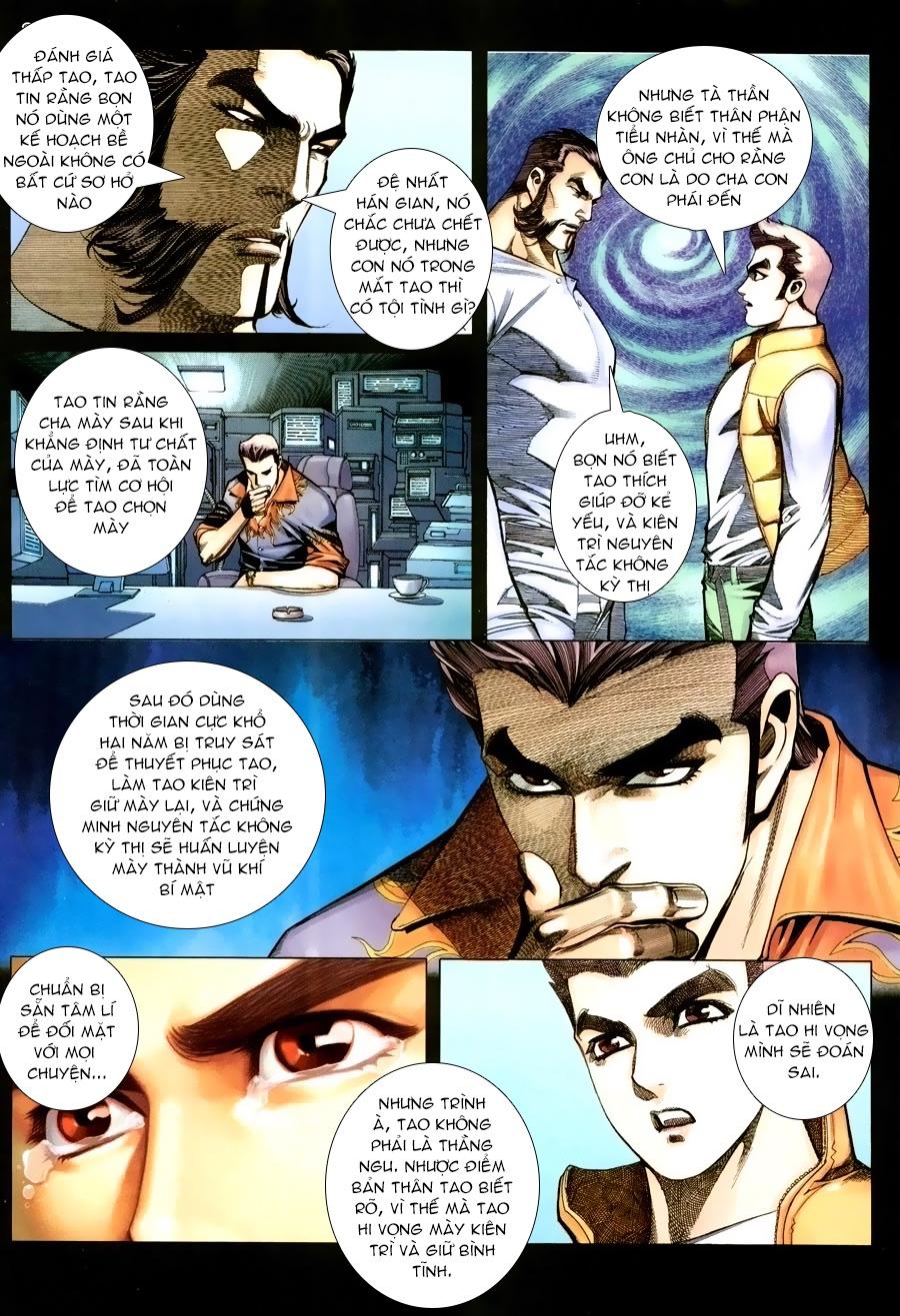 Xích Trụ Phạn Đường chap 14.2 - Trang 14
